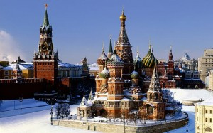 Russia, St Basil's Cathedral