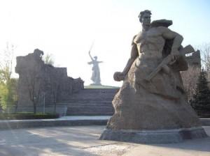 Volgograd mamayev-hill-monuments
